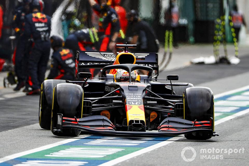"Max Verstappen, Red Bull Racing RB16<span class=""copyright"">Glenn Dunbar / Motorsport Images</span>"