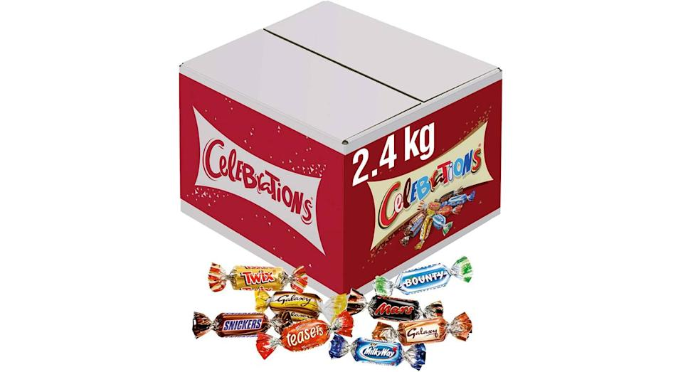 2.4KG Celebrations Chocolate Bulk Box
