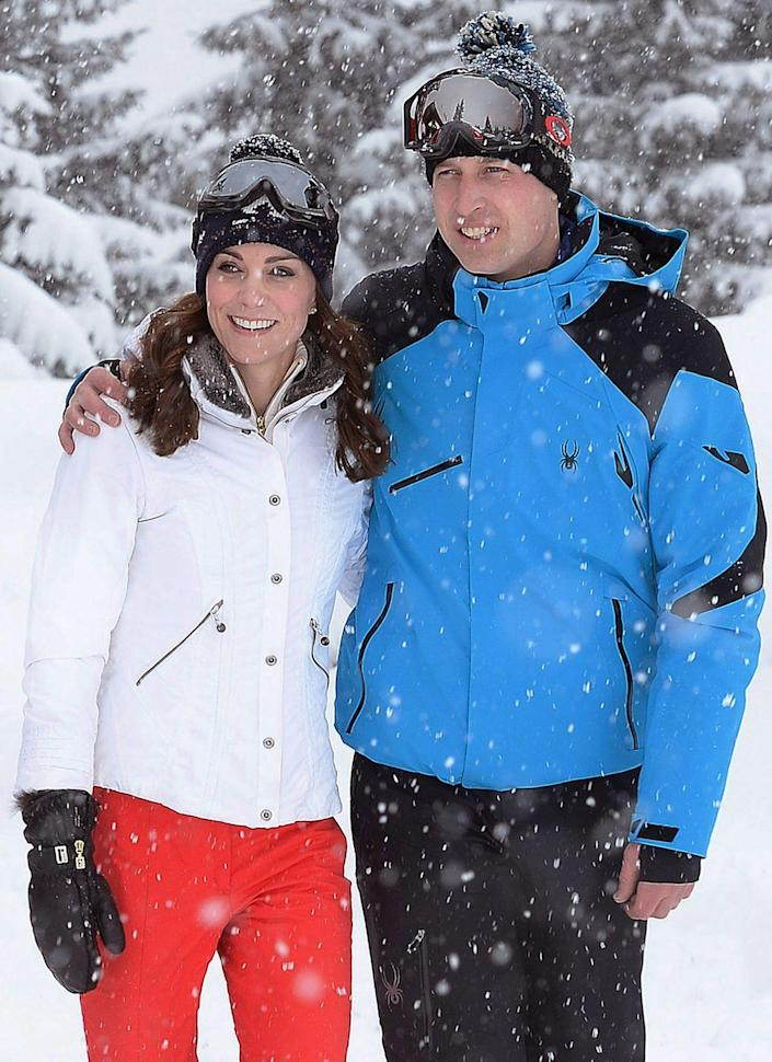 """<p>It was all fun and games on the Cambridge's winter vacation until Kate Middleton was called out by PETA UK for wearing fur-lined ski gloves. The animal rights group <a href=""""https://www.eonline.com/news/747720/kate-middleton-criticized-by-peta-u-k-for-wearing-fur-lined-ski-gloves"""" rel=""""nofollow noopener"""" target=""""_blank"""" data-ylk=""""slk:made a statement"""" class=""""link rapid-noclick-resp"""">made a statement</a> saying, """"If the gloves are indeed made of real fur, we'll be contacting Kate, who we imagine is unaware that possums killed for their fur are often caught in bone-crushing steel-jaw traps."""" Yikes. </p>"""
