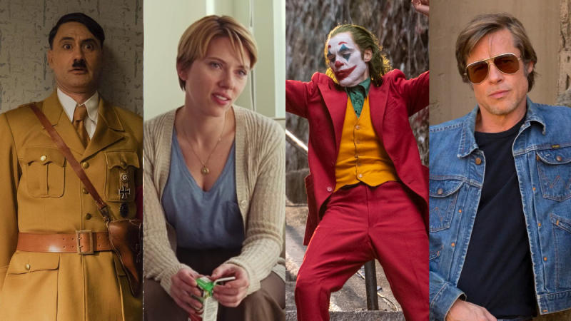 An eclectic range of films is in contention for the Oscars 2020. (Credit: Fox/Netflix/WB/Sony)