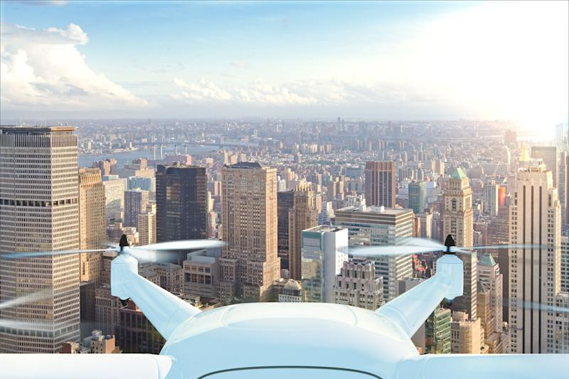 Firefighting drones will soon fly over New York City