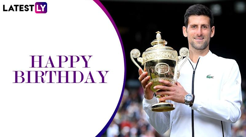 Novak Djokovic Birthday Special: Interesting Facts About the 17-Time Grand Slam Champion and Current World No 1 Tennis Star