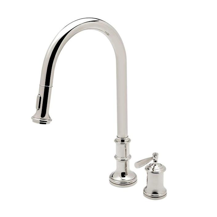 Waterworks Foro Two Hole Gooseneck Kitchen Faucet; $3,000.