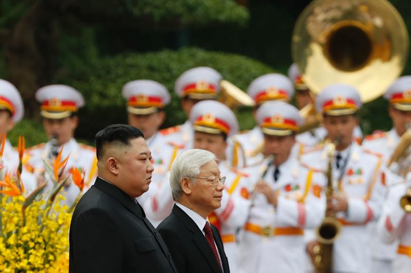 North Korea's Kim Jong Un kicked off an official 'Goodwill visit' to Vietnam after his summit with US President Donald Trump