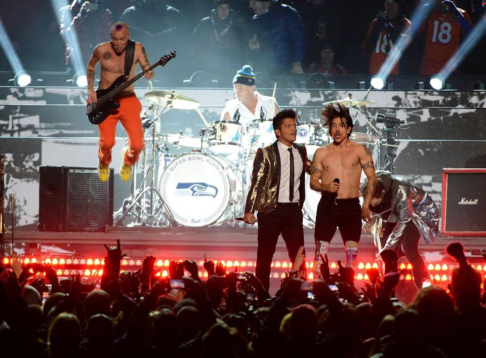 <p>Kinda surprised the Super Bowl halftime show didn't just retire after Beyoncé shut it down. But I guess Bruno Mars and the Red Hot Chili Peppers did their best to follow in her footsteps. </p>