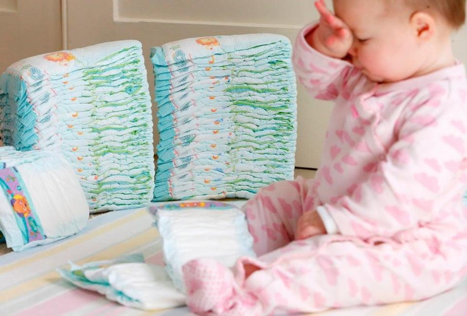 The Government has denied it will tax disposable nappies in order to encourage parents to use environmentally-friendly alternatives (Chris Ison/PA) (PA Archive)