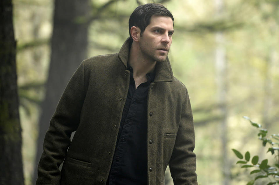 <p><strong>Greenwalt:</strong> <em>Grimm</em> attempts to offer an explanation for monstrous behavior and the inexplicable nature of evil.<br><strong>Kouf:</strong> The environmental issue in episode 9 of this season, as the environment is an issue that's important to me, and the senility issue in episode 10 of this season, as it is an issue we all have to deal with. (Credit: Allyson Riggs/NBC) </p>