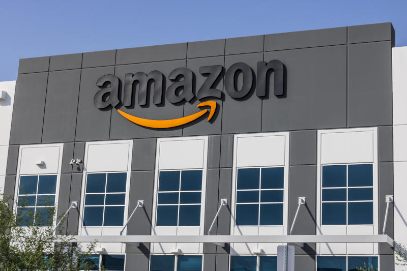 Las Vegas - Circa July 2017: Amazon.com Fulfillment Center. Amazon is the Largest Internet-Based Retailer in the United States IV