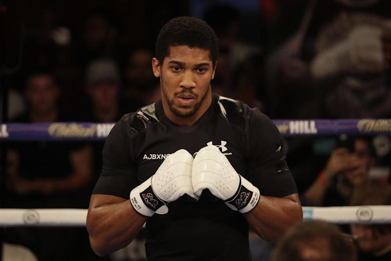 Fighting talk | Joshua takes on Povetkin at Wembley on Saturday: AP Photo/Matt Dunham