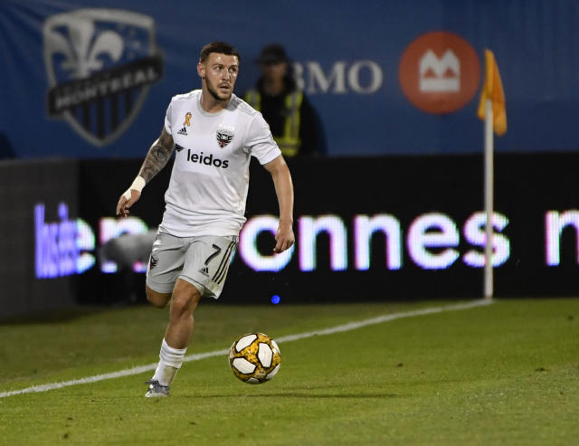 Paul Arriola scored in a D.C. United's crucial Aug. 31 win at the Montreal Impact. (Eric Bolte/USA Today)