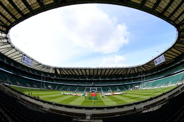 International rugby could also return behind closed doors (Nigel French/PA)