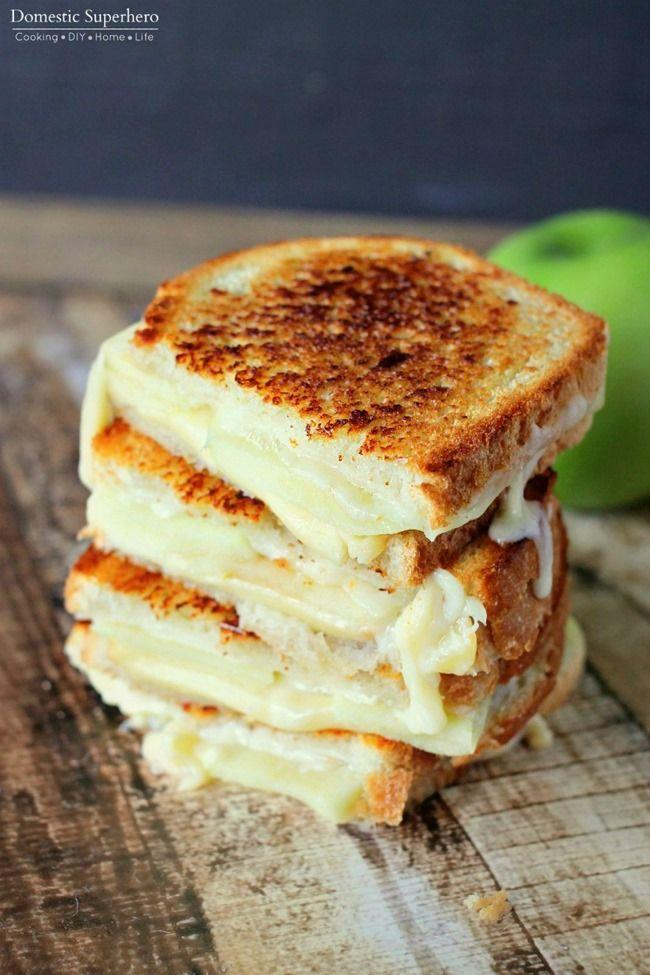 "<p>Fresh apples add the right amount of crunch to an ooey-gooey grilled cheese sandwich.</p><p><strong>Get the recipe at <a href=""http://domesticsuperhero.com/2015/10/07/apple-gouda-grilled-cheese/"" rel=""nofollow noopener"" target=""_blank"" data-ylk=""slk:Domestic Superhero"" class=""link rapid-noclick-resp"">Domestic Superhero</a>.</strong></p>"