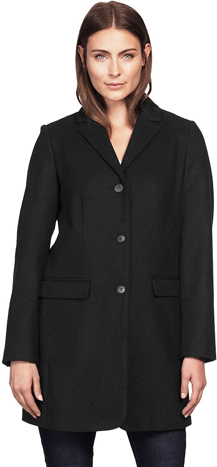 """<br><br><strong>Ellos</strong> Plus Size Long Wool Blend Blazer, $, available at <a href=""""https://amzn.to/3iIO6rG"""" rel=""""nofollow noopener"""" target=""""_blank"""" data-ylk=""""slk:Amazon"""" class=""""link rapid-noclick-resp"""">Amazon</a>"""