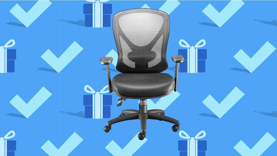 Cyber Monday 2020: Staples Carder Mesh Back Fabric Computer and Desk Chair.