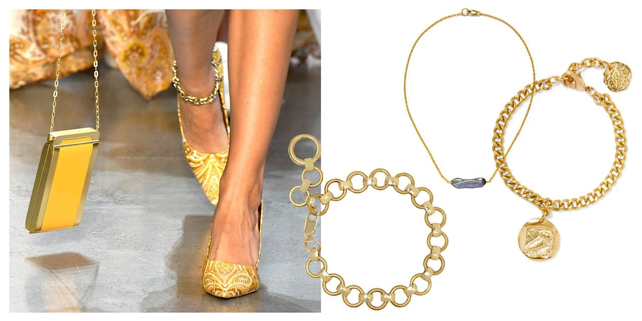 "<p>I know what you're thinking: ELLE, you can't be serious. Anklets? Well, the answer is yes! The jewelry you loved in the '90s and '00s is officially back in style and we're kind of obsessed. Sure, at some point, they became the ""trashy"" style of jewelry (similar to the rise and fall of tongue and belly button rings) but designers are making beautifully restrained styles that you'll want to wear for the rest of your hot girl summer and beyond. Shop our favorites, ahead. </p>"