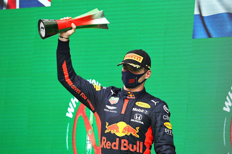 Verstappen finished third in the Portuguese Grand Prix but insists he won't be satisfied until he reaches the top