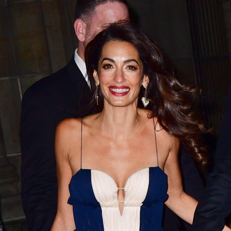 Amal Clooney Has a Major Fashion Moment at the UN Correspondents Association Awards in New York