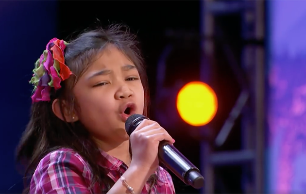 Angelica Hale appeared on America's Got Talent to show off her amazing vocal skills. Photo: Facebook