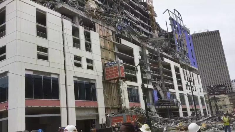 Hard Rock Casino Hotel Under Construction Partially Collapses in New Orleans, Killing at Least Two