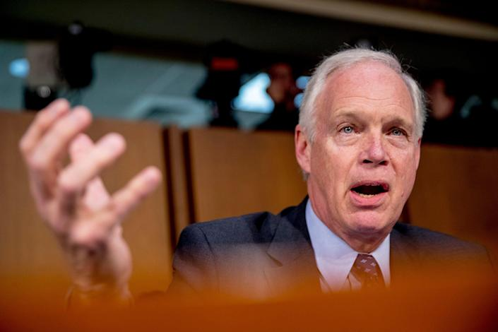 Sen. Ron Johnson, R-Wis., a Trump supporter, is a witness to key meetings at the heart of the impeachment inquiry. He would also be a juror in a Senate trial.