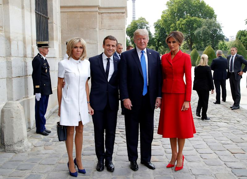 French, German leaders say nations must talk to Trump class=