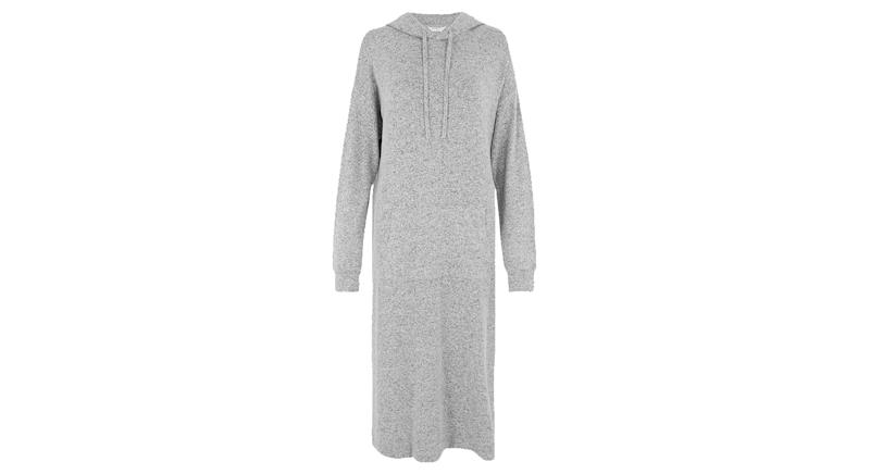 Cosy Knit Hooded Lounge Dress