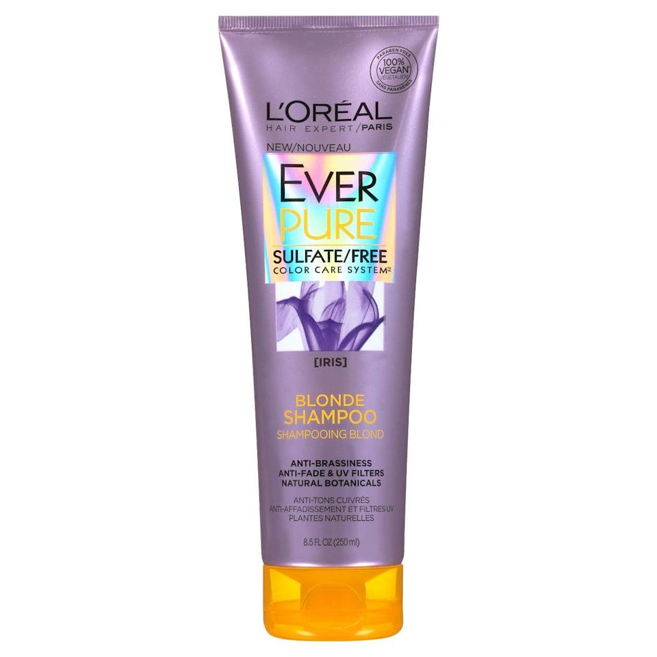 <p>If you've been slacking on using a purple shampoo (been there), and begin developing some brassiness, call in the big guns. This <span>L'Oréal Paris Ever Pure Blonde Shampoo</span> ($7) will do its best to neutralize the dullness, STAT.</p>