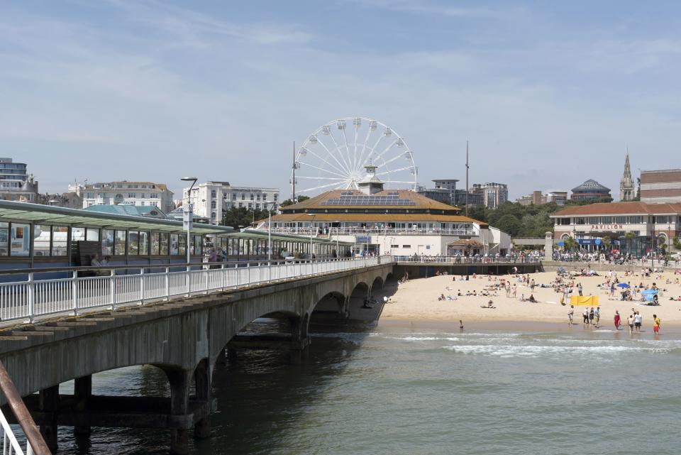 Bournemouth, in the UK.