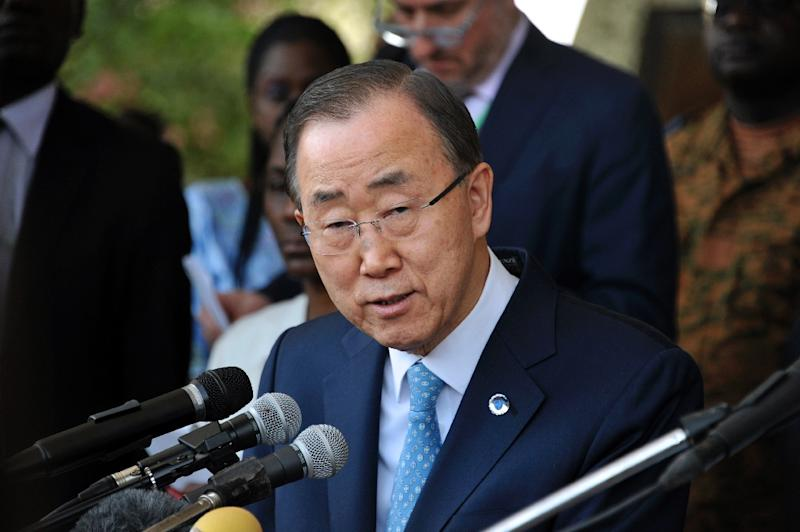 UN Secretary General Ban Ki-Moon released the nationalities of troops facing allegations of sexual abuse and exploitation in his annual report as part of a new push to pressure countries to take action (AFP Photo/Ahmed Ouoba)