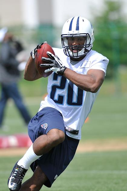 Bishop Sankey, minicamping in Tennessee, preparing for a serious role (Frederick Breedon/Getty Images)