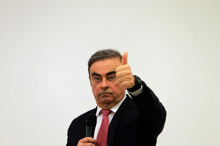 """Carlos Ghosn said he has """"no choice"""" but to escape because had been been """"presumed guilty"""" in Japan (AFP Photo/-)"""