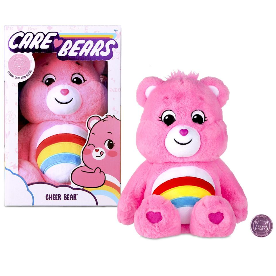 "<p><strong>Care Bears</strong></p><p>walmart.com</p><p><strong>$12.88</strong></p><p><a href=""https://go.redirectingat.com?id=74968X1596630&url=https%3A%2F%2Fwww.walmart.com%2Fip%2F269836247&sref=https%3A%2F%2Fwww.redbookmag.com%2Flife%2Ffriends-family%2Fg34828589%2Fholiday-gifts-for-kids-of-every-age%2F"" rel=""nofollow noopener"" target=""_blank"" data-ylk=""slk:Shop Now"" class=""link rapid-noclick-resp"">Shop Now</a></p>"