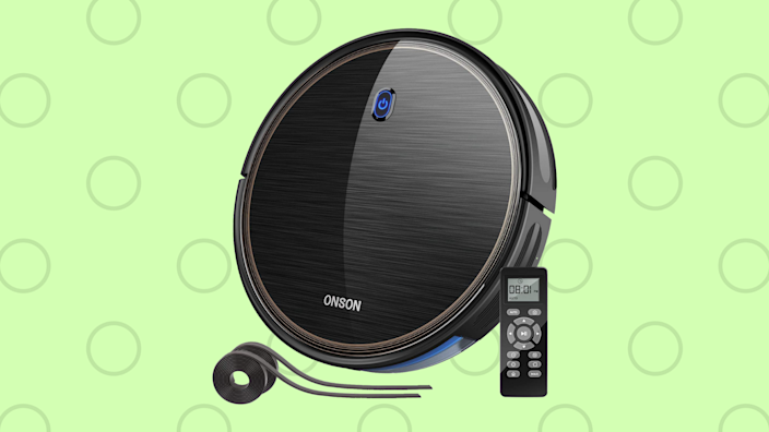 Save 46 percent—Goovi Onson 2100PA Robotic Vacuum Cleaner. (Photo: Amazon)