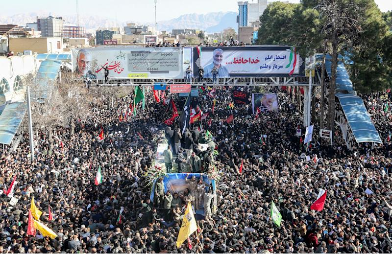 Stampede at Soleimani's Funeral Kills 40, Injures 213