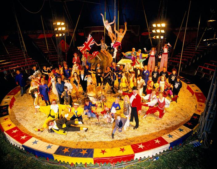 Cottle's circus - Alamy