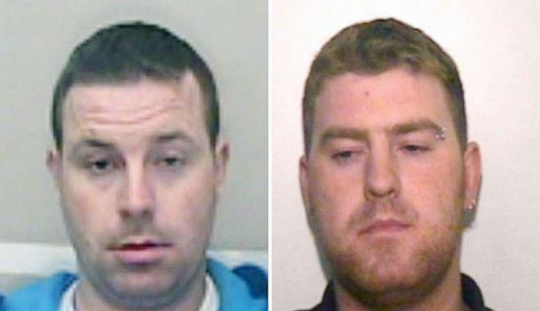 PHOTO: Christopher Hughes, 34, and his brother Ronan Hughes, 40 are wanted on suspicion of manslaughter and human trafficking in connection with 39 bodies found in a tractor-trailer in London on Oct. 23, 2019 police said. (Essex Police)