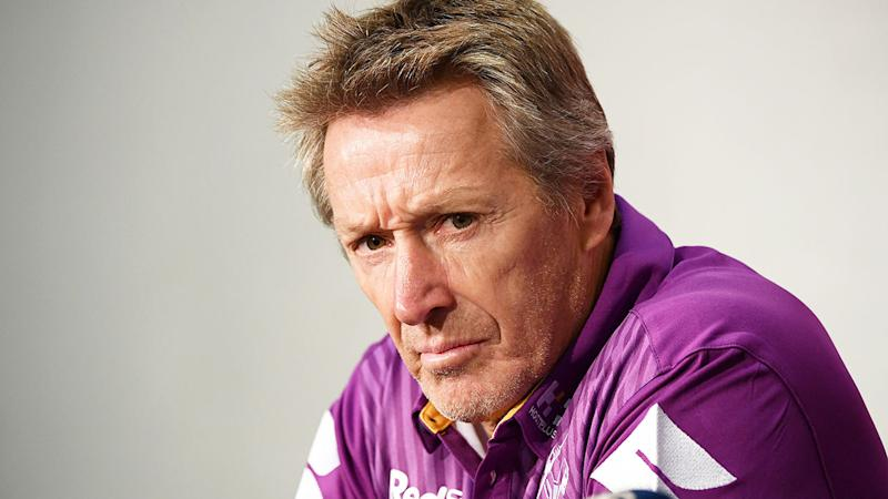 Pictured here, Melbourne Storm coach Craig Bellamy.