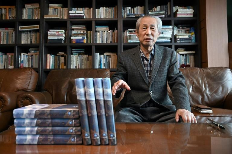 Kim Seung-kyun told AFP he published the memoirs to promote inter-Korean reconciliation