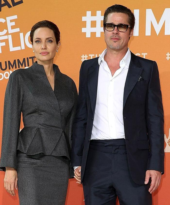 Brangelina no more. Source: Getty Images.