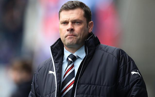 """Old Firm conspiracy theorists – a constituency large enough to fill Ibrox or Parkhead, according to taste – might be inclined to suppose that the Rangers board is subjecting Graeme Murty to an ingenious stress test. Installed for a second spell as interim manager because of the failures of supposedly more permanent candidates, Murty went into the most recent derby against Celtic having had to fend off questions about his future after his chairman wrote to the club's season ticket holders to say that whoever got the job on a longer-term basis would be expected to deliver 'immediate success'. The subsequent drubbing inflicted in Celtic's 4-0 Scottish Cup victory bodes ill for the final collision of the pair on Saturday, when the Hoops can secure their seventh successive Scottish title by doing so in an Old Firm derby at home for the first time since 1979, when Billy McNeill's Celtic won 4-2 despite being reduced to 10 men by Johnny Doyle's dismissal. Given such an ominous prospect, the prominence of Steven Gerrard's name in the lead-up to this derby can be regarded as an attempt to keep the Rangers fans sweet in the event of another traumatic afternoon in the east end of Glasgow. As the Daily Telegraph reported, Rangers have made contact with Gerrard's representatives and the outcome is evidently in the gift of the former England and Liverpool midfielder. Murty responded to this development with a robust assertion of his own claim to the job when he said: """"I'll be fighting as hard as I can in these last four games to finish as high up the table as I possibly can. """"I'm in the role currently. I love the role and will do everything I possibly can to keep it."""" Rangers have contacted Liverpool over Steven Gerrard Credit: PA Brendan Rodgers, Murty's Celtic counterpart and Gerrard's former manager at Anfield, was inevitably drawn into the issue. """"I don't really want to speak on it, to be honest, and I think it's hugely disrespectful to the guy who's been put in to help manag"""