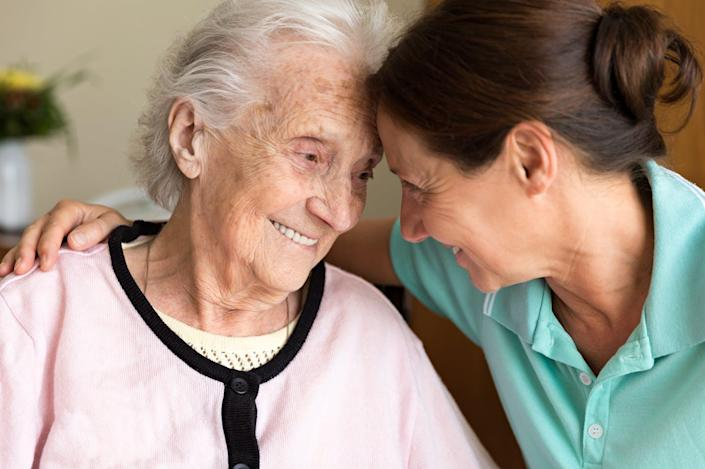 """<span class=""""caption"""">Your medical team should determine whether you have dementia or just normal memory loss due to aging.</span> <span class=""""attribution""""><a class=""""link rapid-noclick-resp"""" href=""""https://www.gettyimages.com/detail/photo/dementia-and-occupational-therapy-home-caregiver-royalty-free-image/820952986?adppopup=true"""" rel=""""nofollow noopener"""" target=""""_blank"""" data-ylk=""""slk:Fred Froese via Getty Images"""">Fred Froese via Getty Images</a></span>"""