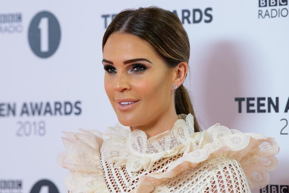 LONDON, ENGLAND - OCTOBER 21: Danielle Lloyd arrives at the BBC Radio 1 Teen Awards at SSE Arena on October 21, 2018 in London, England. (Photo by Joe Maher/Getty Images)