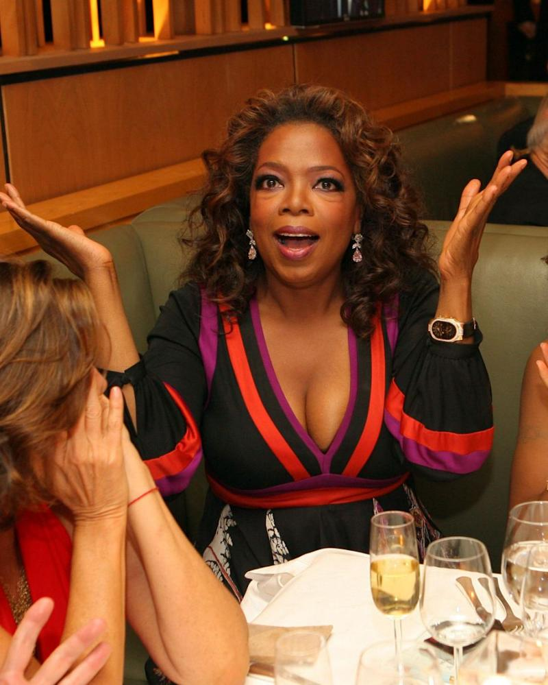Oprah (here in 2007) has insisted she will not be running for president in 2020. Source: Getty