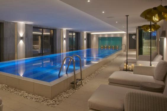 The indoor pool at Dormy House spa (Dormy House )
