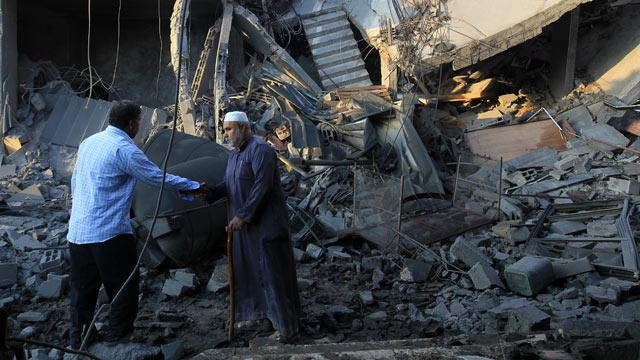Gaza: A Warning Call, Then Missiles