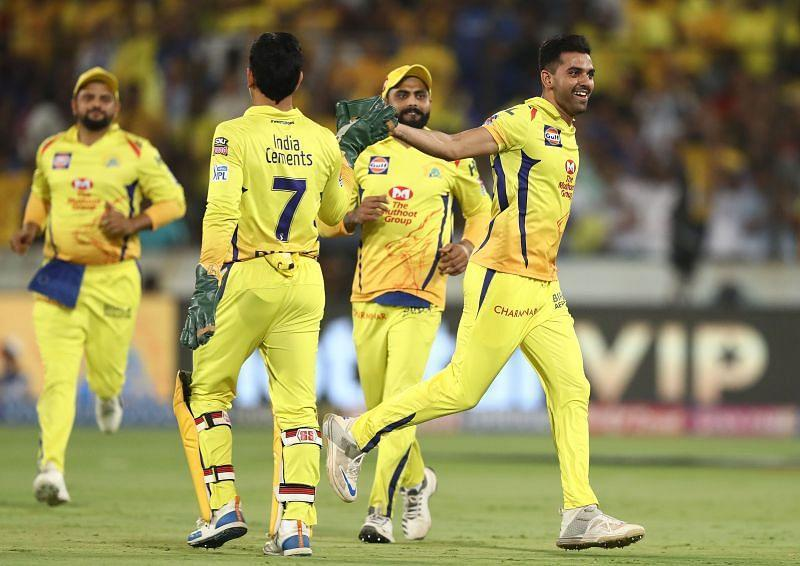 Chennai Super Kings used Pune as their home venue in 2018