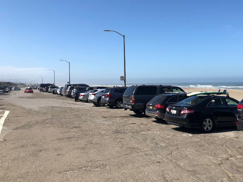 Ocean Beach parking is open, save for the lot at Sloat Boulevard.