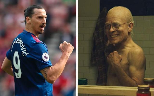 Zlatan Ibrahimovic has compared himself to Benjamin Button - Getty Images