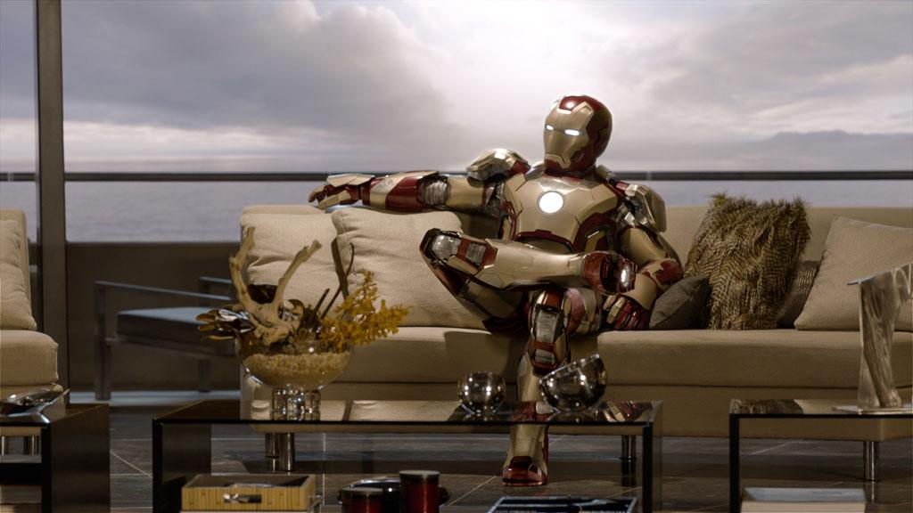 "Robert Downey Jr. in Marvel Studios' ""Iron Man 3"" - 2013"