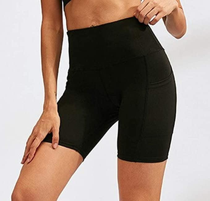 <p>We like the length and polished look of these <span>Aoliks High Waist Yoga Shorts</span> ($16).</p>